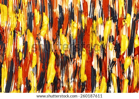 Abstract watercolor stroke background - stock photo