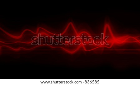 abstract wave - stock photo
