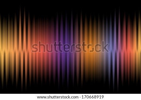 Abstract wave colorful background