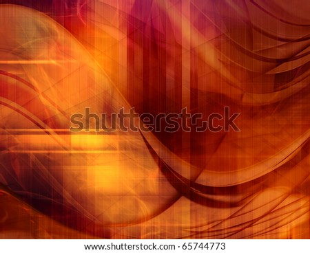 Abstract waves background - stock photo