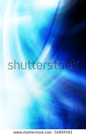 Abstract wavy background in blue tones. - stock photo