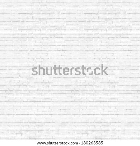 Abstract weathered high resolution texture old stucco light gray and aged paint white brick wall background in rural room, grungy blocks of stonework technology color horizontal architecture wallpaper - stock photo