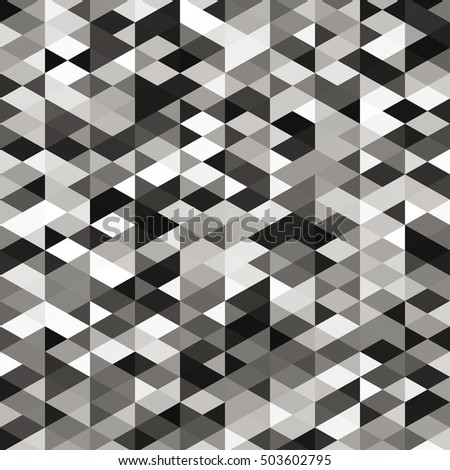 Abstract web black and white raster background. Geometric simple print. Vector repeating texture.