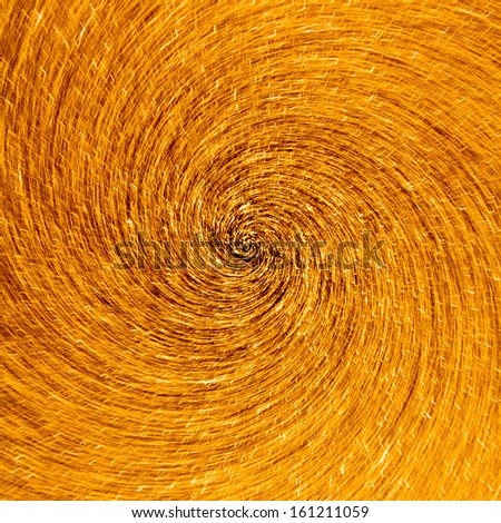 Abstract whirlpool of golden star trail motion in a vortex - stock photo