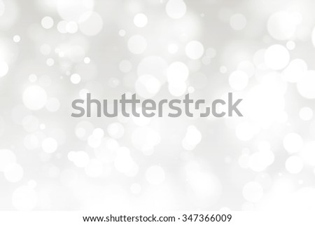 Abstract White Defocused Lights Background - stock photo