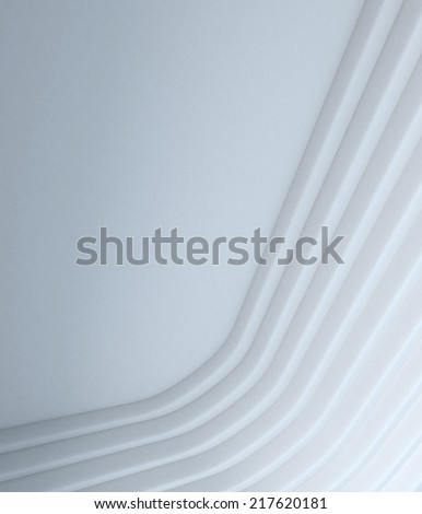 abstract white geometry  render background mimic architecture element