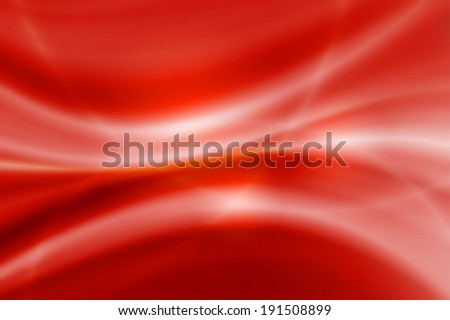 abstract white line on red background - stock photo