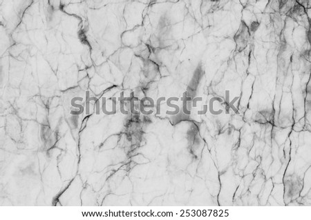 Abstract white marble patterned  texture background. - stock photo