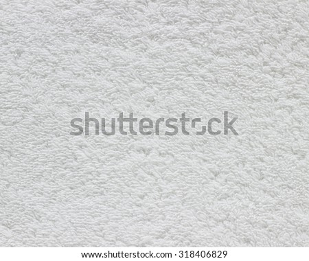 Abstract white towel background. - stock photo