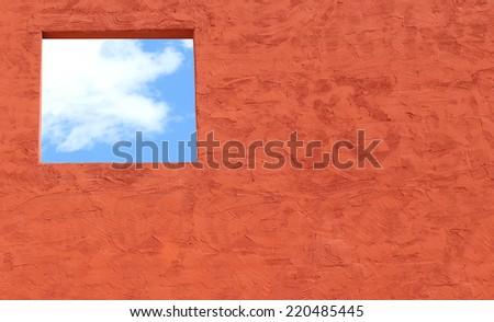 Abstract Window - stock photo
