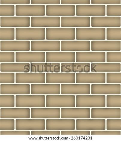 Bullet holes in brick wall