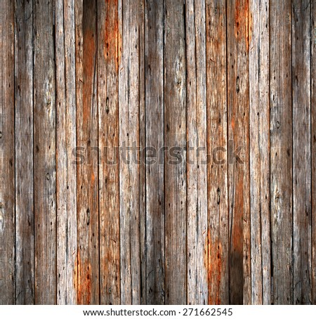 Abstract Wood and crack cement background - stock photo