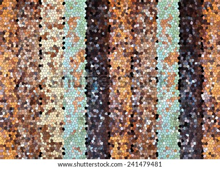 abstract wood mosaic backgrounds textures - stock photo