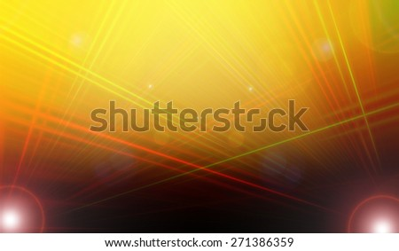 abstract  yellow and red  color background with motion blur