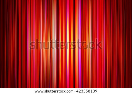 Abstract yellow and red stripes background with spotlight