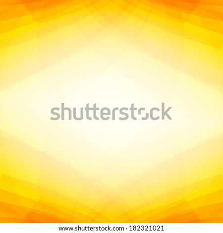 Abstract yellow background for your message with copyspace area - stock photo