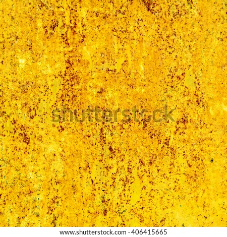 abstract yellow background texture rusty wall