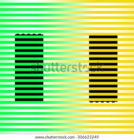 Abstract yellow green background. - stock photo
