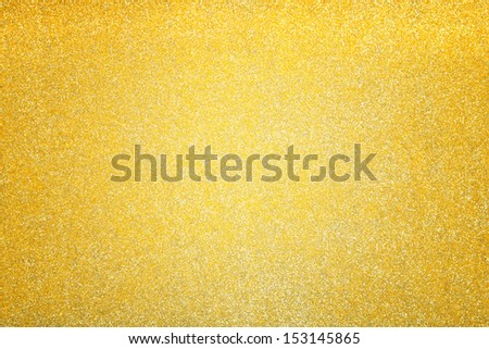 Abstract yellow holiday background - stock photo