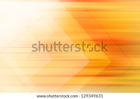 Abstract yellow tech background. - stock photo