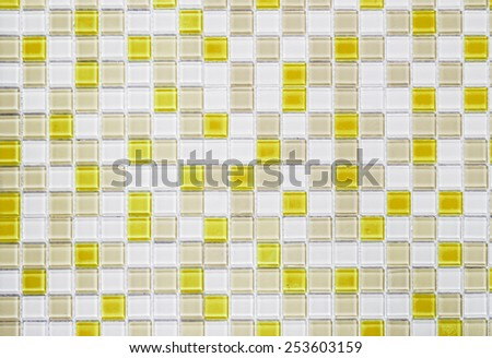 abstract yellow tile background