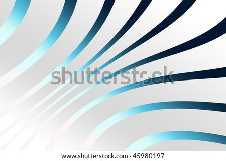 Abstract zebra blue gradient background
