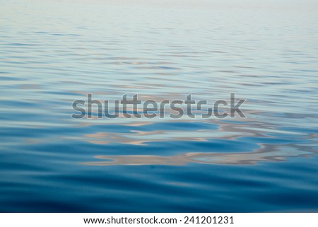 Abstraction in Water, for a natural  background