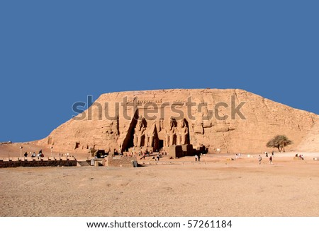 Abu Simbel:  The Nubian Monuments - stock photo