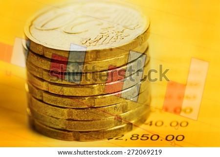 Abundance, banking, bankruptcy. - stock photo