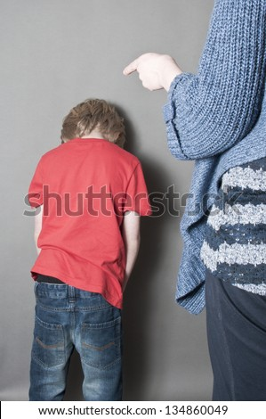 Abuse - stock photo
