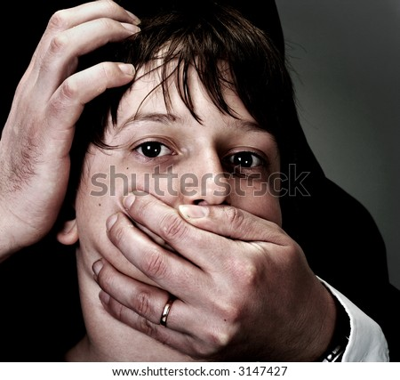 abuse and harassment - stock photo