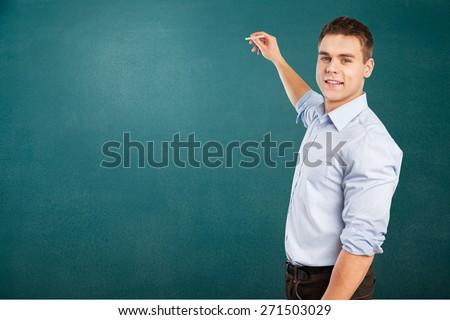 Academic, adult, background. - stock photo