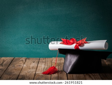 Academic, award, become. - stock photo