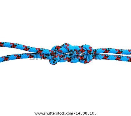 academic knot on white background