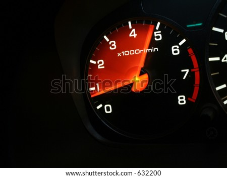 accelerate - stock photo