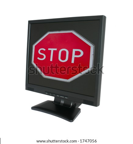 access denied - stock photo