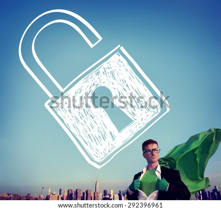 Accessibility Password Privacy Security Protection Concept - stock photo