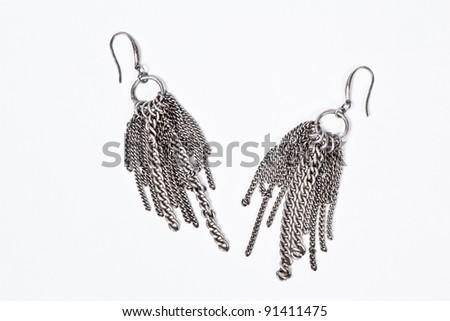 accessory chain - stock photo