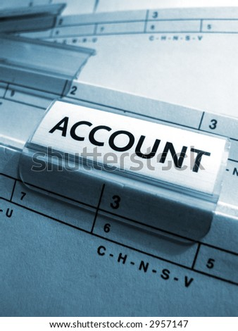 account sign
