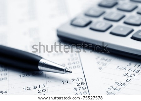 Accounting - stock photo