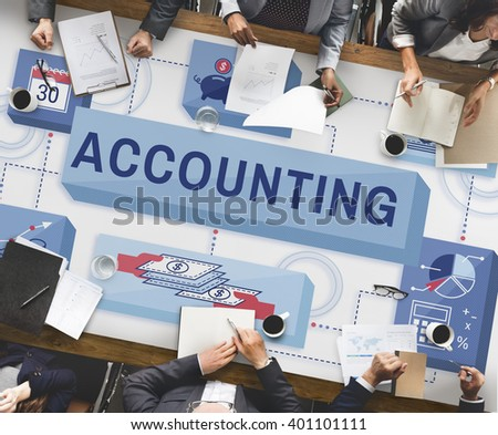 Accounting Banking Finance Income Profit Concept - stock photo