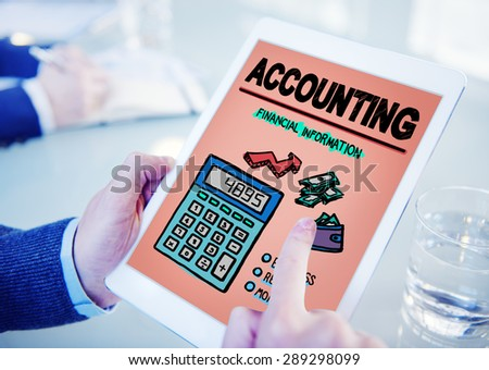 Accounting Finance Money Banking Business Concept - stock photo