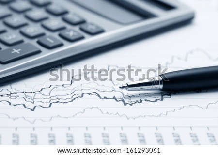 Accounting financial graphs analysis