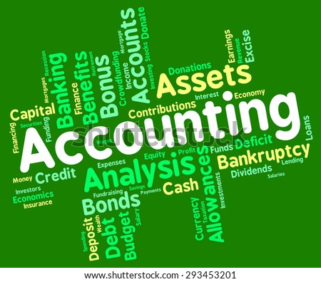 Accounting Words Meaning Balancing The Books And Paying Taxes