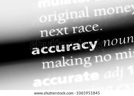 Accuracy | Article about accuracy by The Free Dictionary