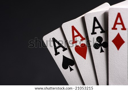 Aces - stock photo