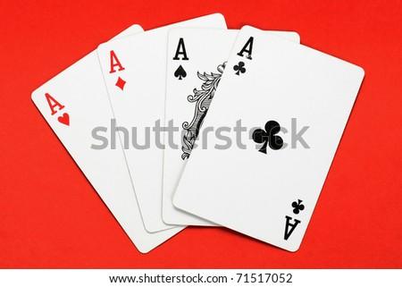 Aces - stock photo