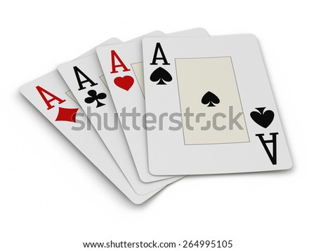 aces (clipping path included)