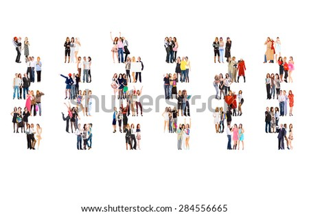 Achievement Idea Corporate Teamwork  - stock photo