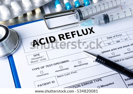 ACID REFLUX ,  Heartburn and Gastroesophageal Reflux Disease (GERD)